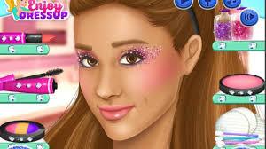 ariana grande real make up games