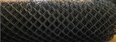 Pvc Coated Galvanized Chain Link Fence System Flexible Woven Wire Fence Green Blue Beige And Custom Colors