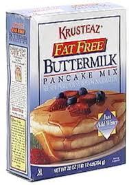 krusteaz fat free ermilk pancake
