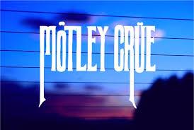 Motley Crue Car Decal Sticker