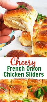 cheesy french onion en sliders