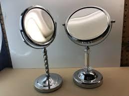 double sided acrylic vanity mirror
