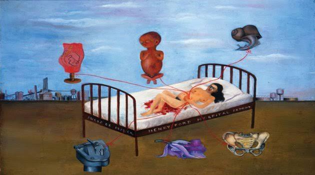 """Resultado de imagen para frida y el aborto"""""""