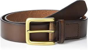 fossil men s morrison leather belt at