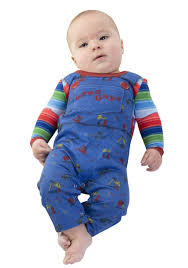 infant child s play chucky costume