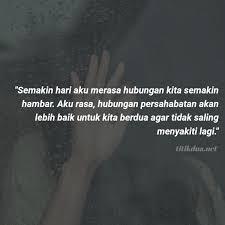 kata kata putus cinta yang menyakitkan sedih banget