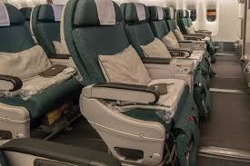 cathay pacific premium economy vs