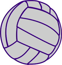 Volleyball clipart purple, Volleyball purple Transparent FREE for ...