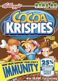cocoa krispies immunity cereal 40