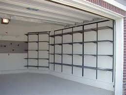beautiful garage shelving system