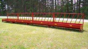 Pmc Livestock Feeders Fence Line Feeders Portable Bunk Wagon And Skid Feeders Large Bale Feeders Pmc The Pequea Machine Corp Boscobel Wi