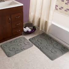 somerset home memory foam bath mat set