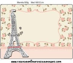 Paris Con Rosas Etiquetas Para Imprimir Gratis Etiquetas Para