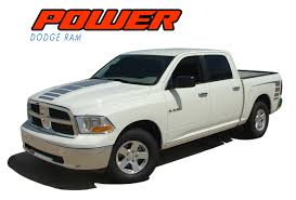 Power Wagon Decals Dodge Ram Hood Stripes Ram Decals Ram Vinyl Graphics