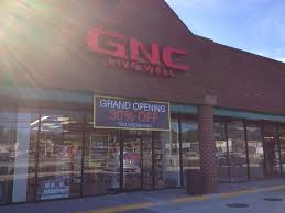 gnc in park plaza now open severna