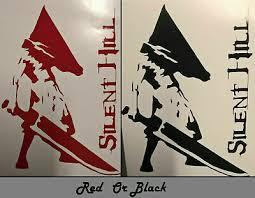 Silent Hill Pyramid Head Vinyl Decal Sticker Car Window Wall Bumper Computer Pc Ebay