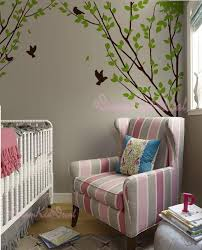 Tree Wall Decal Branch Wall Decals Wall Sticker Corner Tree Etsy