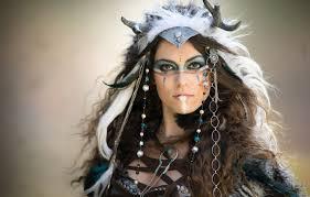 female indian warrior makeup saubhaya