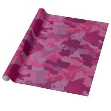 pink camouflage wrapping paper zazzle