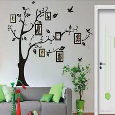 Family Tree Wall Decor Wall Stickers Family Photo Frame Tree Branch Leaves Bird Wall Decal Sticker For Living Room And Bedroom Tree Wall Decals For Nursery Tree Wall Decor Stickers From Fullhouse517