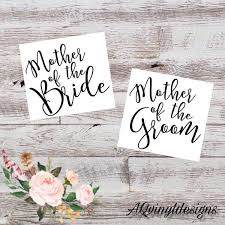Mother Father Of Bride And Groom Vinyl Decal Mother Of The Etsy Gifts For Wedding Party Wedding Decal Wedding Stickers