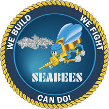 We Build We Fight Can Do Seabee Enlisted Vinyl Transfer Decal