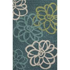 7 6 x 9 6 indoor outdoor rug blue