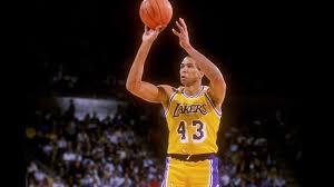 Mychal Thompson - the reason behind the odd spelling of Trevor's middle  name. I changed it up even more - Mykel
