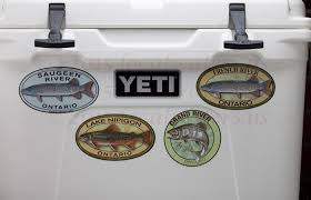 Localwaters Grand River Sticker Fly Fishing Decal Ontario Localwaters