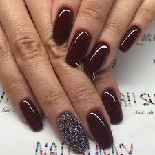 stunning burgundy nails you should try