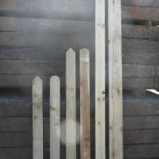 3ft X 4 X Rounded Top Pickets James Smith Fencing