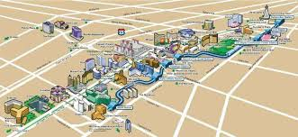 las vegas strip map 2020 updated