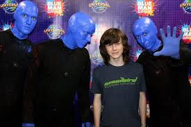 blue man group without makeup pictures