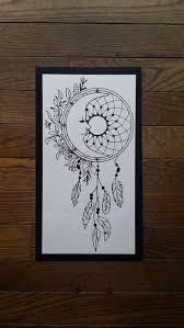 Moon Dream Catcher Feathers Vinyl Decal Dreamcatcher Mandala Etsy Mandala Decals Dream Catcher Mandala Dream Catcher