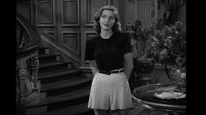 The blouse black Carmen Sternwood (Martha Vickers in The Big Sleep ...