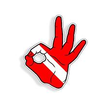 Scuba Dive Sticker Ok Hand Sign Symbol D Buy Online In Bahamas At Desertcart