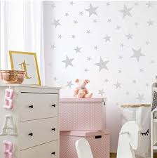 Amazon Com Silver Stars Wall Decals In 2020 Star Wall Decals Kids Room Wall Decals Wall Decals For Bedroom