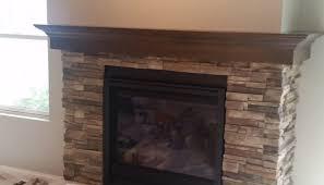 wrap around mantel the fireplace guys