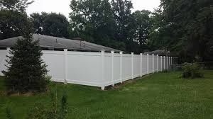 T T Fence Co Huge White Vinyl With Solar Caps Facebook