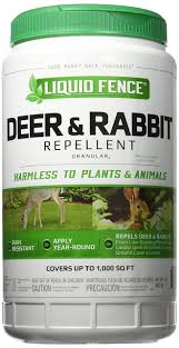 Liquid Fence Deer And Rabbit Repellent Granules Countrymax