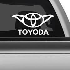 Toyoda Toyota Car Decal Custom Car Decals Funny Car Decals Car Decals