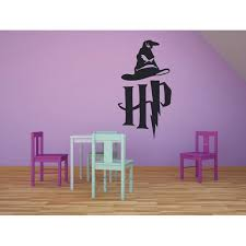 Sorting Hat Hogwart Houses Harry Potter Wall Decal Vinyl Sticker Hp Movie Films Cinema Book Magic