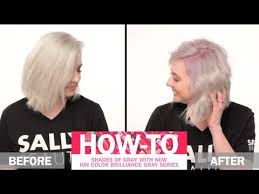 how to get shades of gray hair color