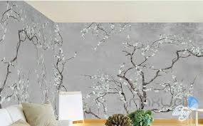 Classical Flowers Blossom Entire Room Wallpaper Wall Mural Decals Livi Idecoroom