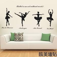 Wall Stickers Wall Stickers Living Room Dance Studio Decor Living Room Tv Wall