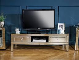 bailey girona tv stand mirrored