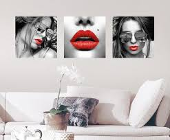 Red Lips Wall Decal Wall Decal Allposters Com