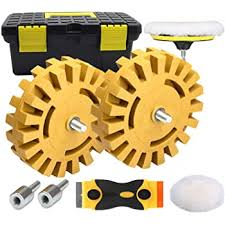 Amazon Com Whizzy Wheel Car Decal And Sticker Remover With Drill Adapter Kit Automotive