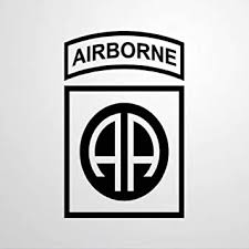 Amazon Com Army Airborne Car Decalstickers Vinyl Decal Car Decal Window Decal Bumper Stickers Die Cut Decals Funny Custom Laptop Stickers Present Home Improvement