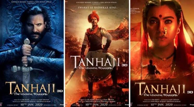 Image result for Ajay Devgn and Saif Ali khan in Tanhaji""